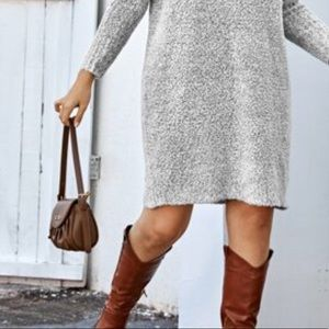 FOSSIL SHOULDERS 100% BROWN LEATHER BAG